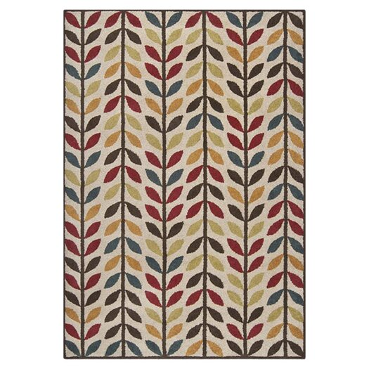 Surya Monterey Red Multi Area Rug