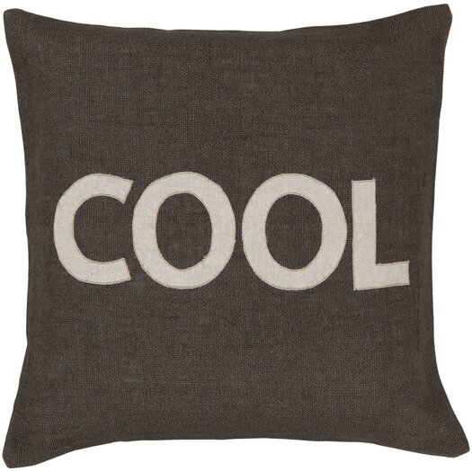 Surya Charmingly Cool Jute Throw Pillow