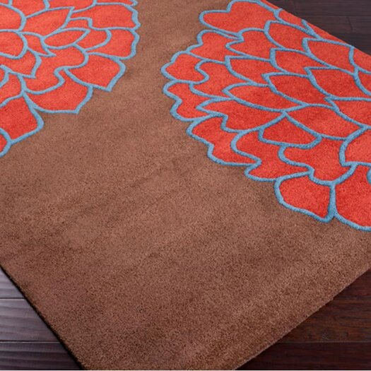 Surya Artist Studio Brown/Sky Red Area Rug