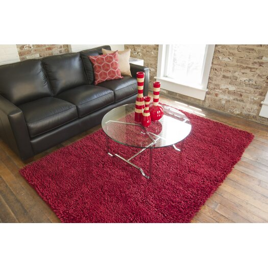 Surya Aros Red Area Rug