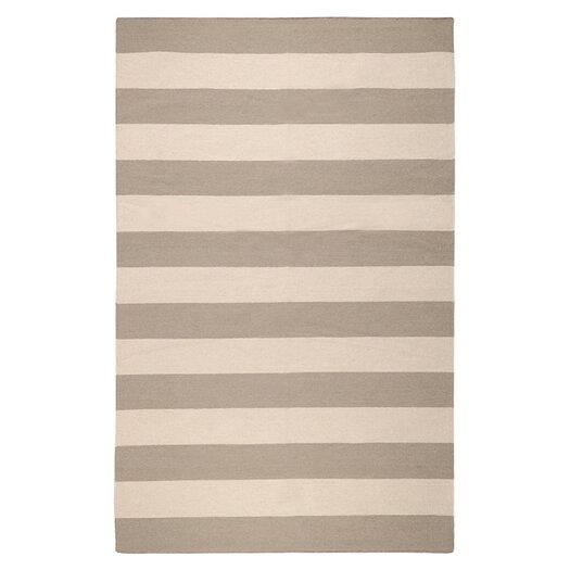 Surya Frontier Gray Striped Area Rug