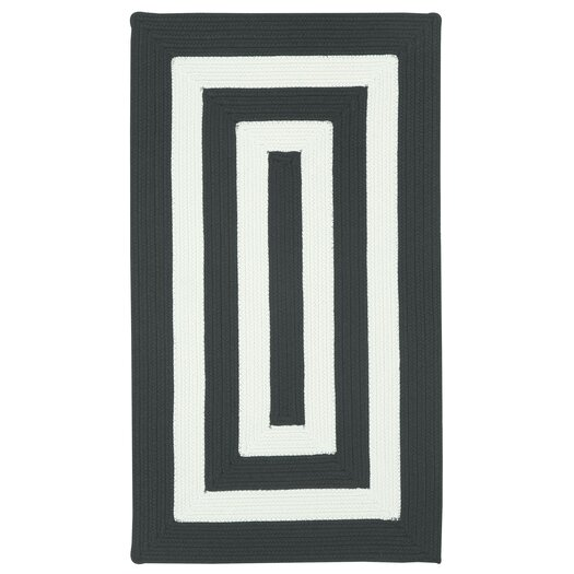 Black And White Rug Outdoor: Capel Willoughby Black/White Striped Outdoor Area Rug