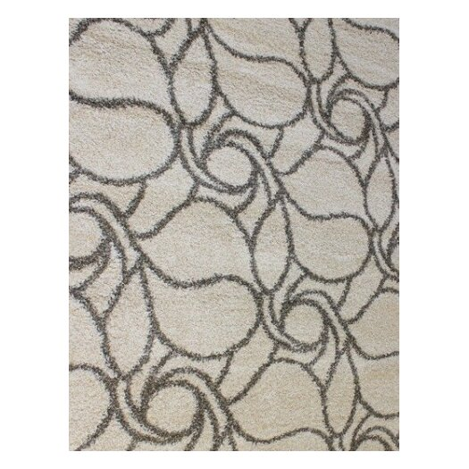 Dynamic Rugs Passion Cream Floral Rug