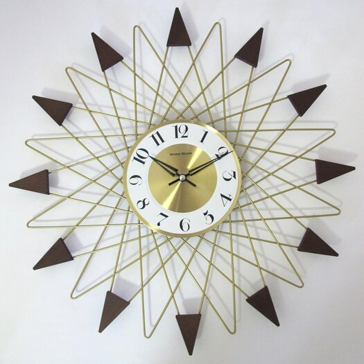 "dCOR design 20"" Banker Wall Clock"