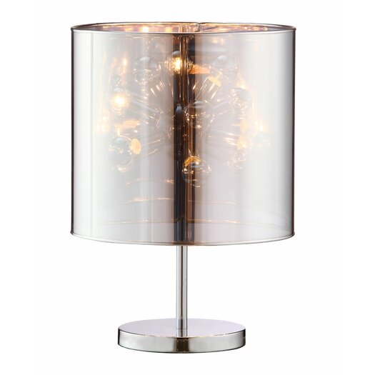 """dCOR design Supernova 21.7"""" H Table Lamp with Drum Shade"""