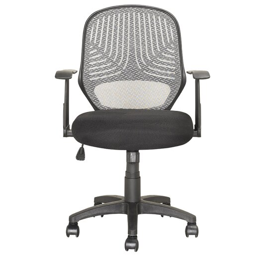 dCOR design Workspace Mid-Back Mesh Office Chair with Arms