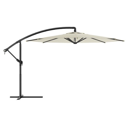 dCOR design Offset 9.8' Market Umbrella