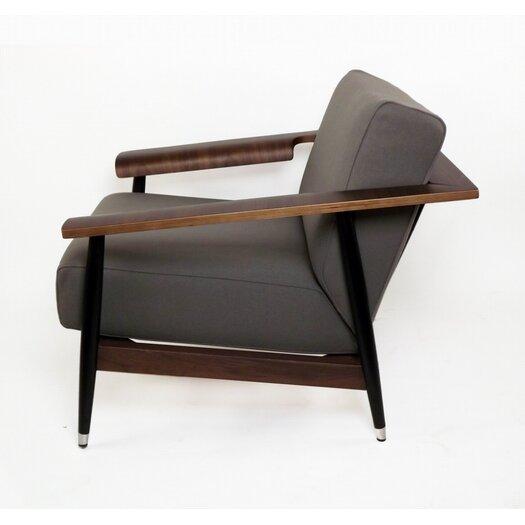 dCOR design Sean Dix Single Seater Dowel Fabric Lounge Chair