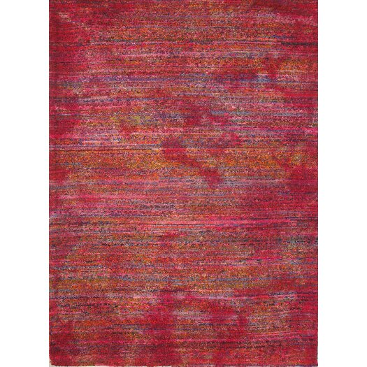 Foreign Accents Boardwalk Red/Magenta Area Rug