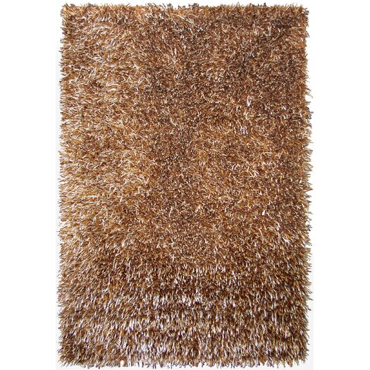 Foreign Accents Elementz Shag Brown Area Rug