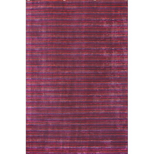 Foreign Accents Urban Journey Dark Berry Rug
