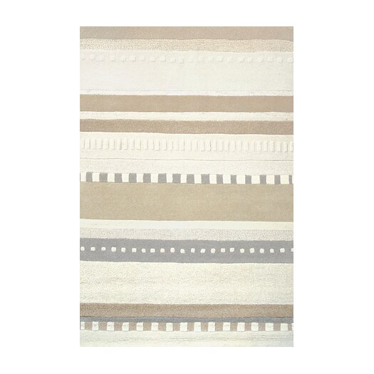 Foreign Accents Chelsea Ivory / Moca Area Rug