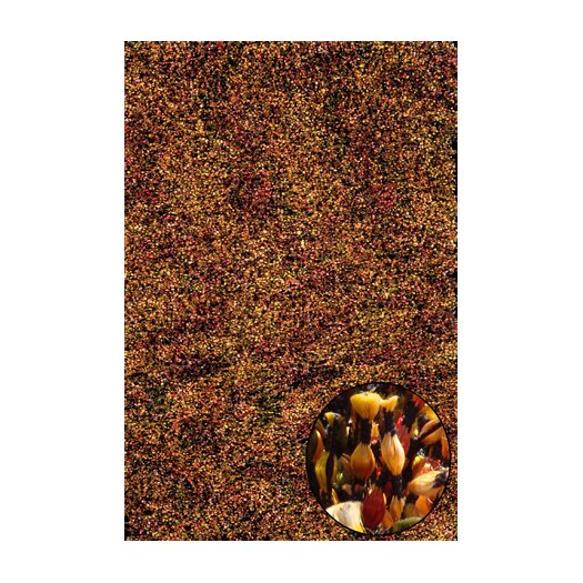 Foreign Accents Elementz Starburst Red/Brown Area Rug