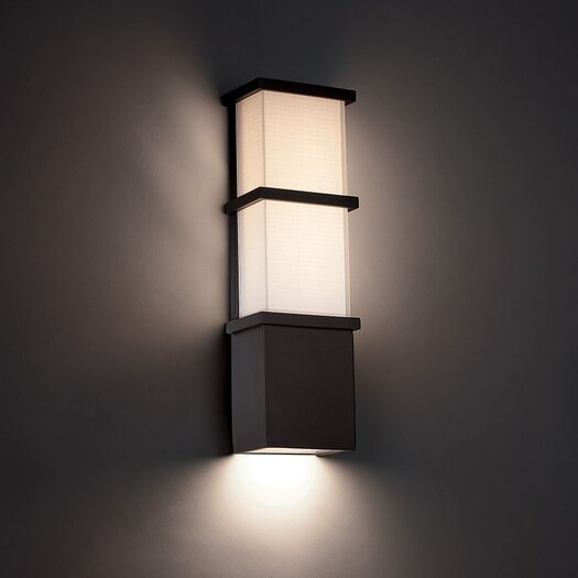 Modern forms elevation 1 light flush mount allmodern for Contemporary exterior wall lights