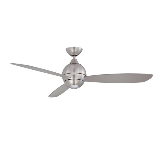 Kendal Lighting 52 Quot Sphere 3 Blade Ceiling Fan With Wall
