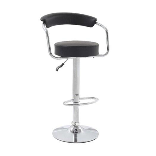 Smart Adjustable Height Swivel Bar stool with Cushion