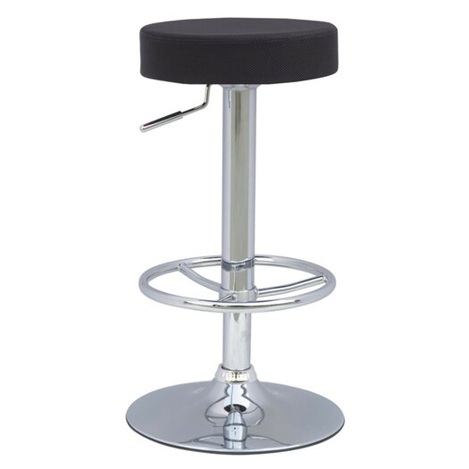 Ex Adjustable Height Swivel Bar Stool with Cushion