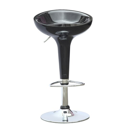 Razzle Adjustable Height Bar Stool (Set of 2)