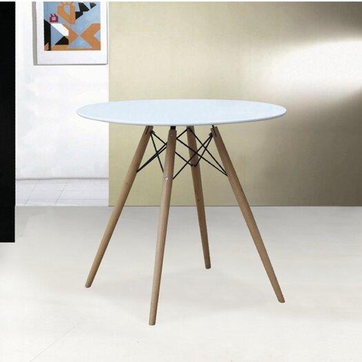 Wood Leg Dining Table