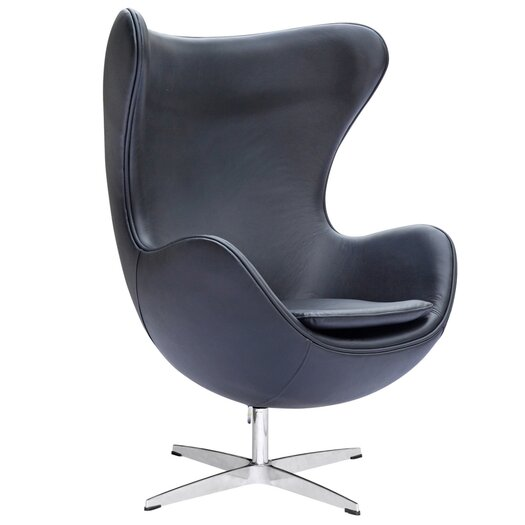 Inner Leather Arm Chair