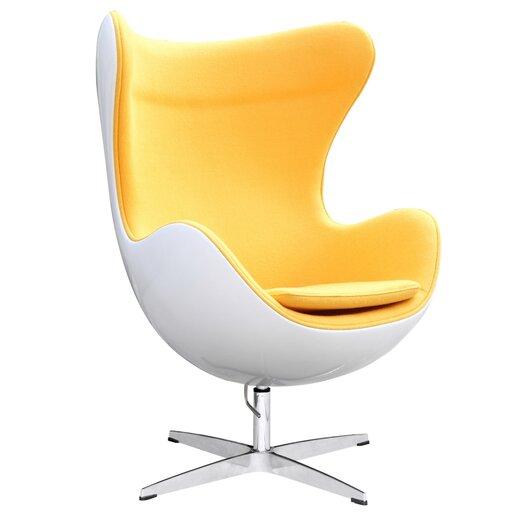 Fine Mod Imports Fiesta Fiberglass Arm Chair Allmodern