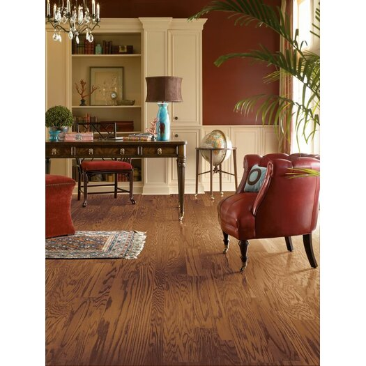 "Armstrong Fifth Avenue Plank 5"" Engineered Red Oak Hardwood Flooring in Sable"