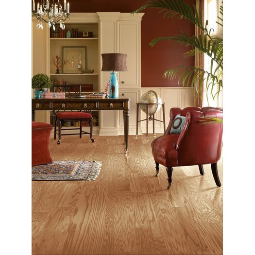 """Armstrong Fifth Avenue Plank 3"""" Engineered Red Oak Hardwood Flooring in Chablis"""