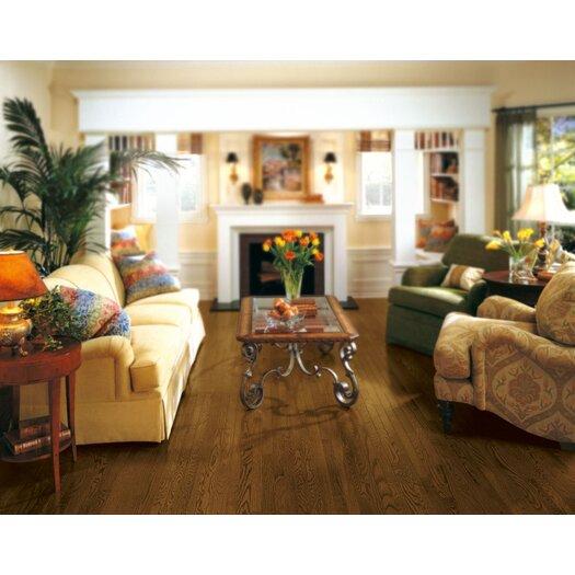 "Armstrong Somerset 2-1/4"" Solid Red Oak Hardwood Flooring in Haystack"
