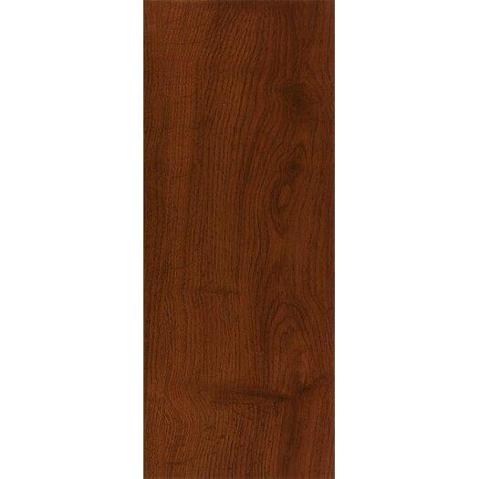 """Armstrong Luxe Jefferson Oak 6"""" x 36"""" x 2.79mm Luxury Vinyl Plank in Cherry"""