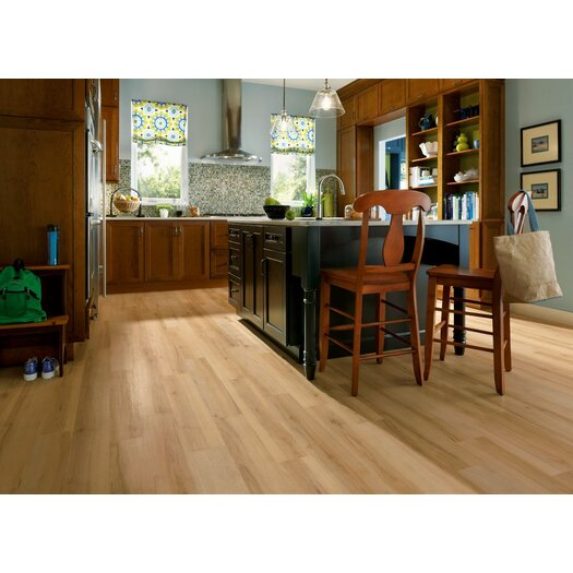 "Armstrong Luxe Sugar Creek Maple 6"" x 36"" x 2.79mm Luxury Vinyl Plank in Natural"