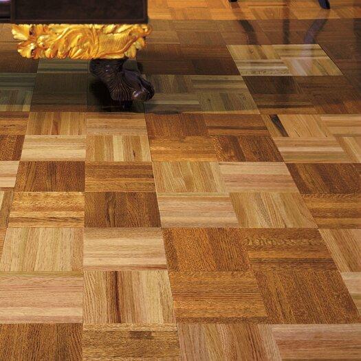 "Armstrong Urethane Parquet 12"" Solid Oak Parquet Hardwood Flooring in Standard"