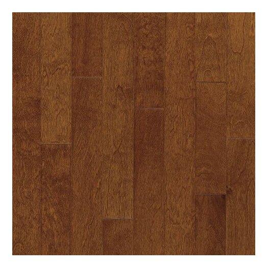 "Armstrong Metro Classics 5"" Engineered Yellow Birch Hardwood Flooring in Mocha"