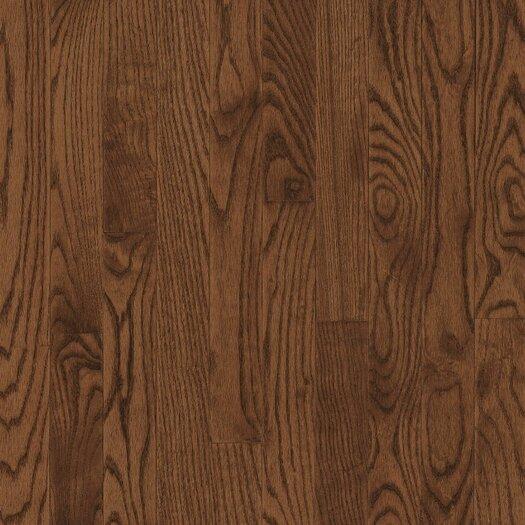 "Armstrong Yorkshire 3-1/4"" Solid White Oak Hardwood Flooring in Umber"
