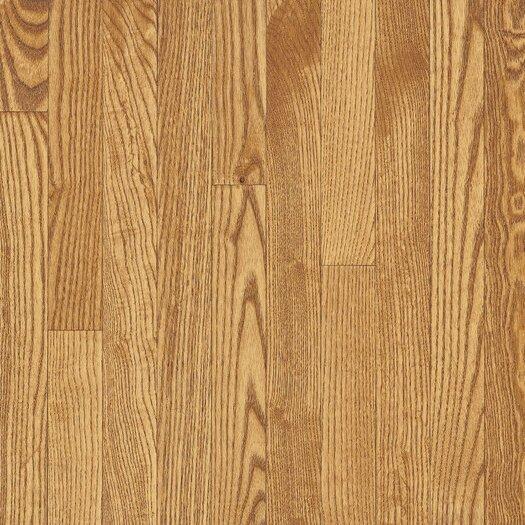"Armstrong Yorkshire 3-1/4"" Solid White Oak Hardwood Flooring in Sahara"