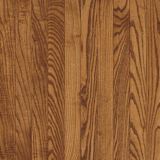 "Armstrong Yorkshire 3-1/4"" Solid White Oak Hardwood Flooring in Auburn"