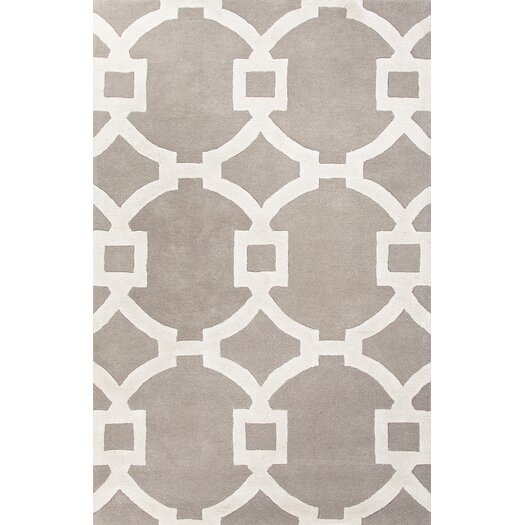 Jaipur Rugs City Light Gray Amp Ivory Geometric Area Rug
