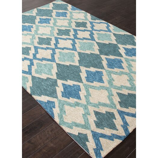Jaipur Rugs Catalina Blue & Ivory Ikat Indoor/Outdoor Area