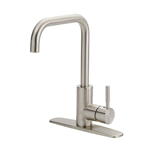 Artisan Sinks Prime Kitchen One Handle Centerset Bar Faucet without Spray