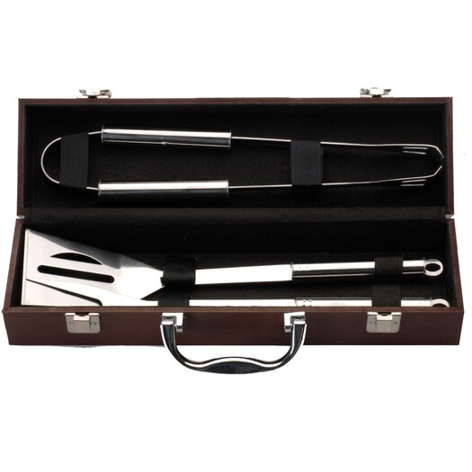 BergHOFF International Mini 4 Piece BBQ Tool Utensil Set