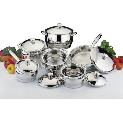 BergHOFF International Stainless Steel 12-Piece Cookware Set