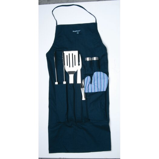 BergHOFF International Orion 9 Piece BBQ Utensil Set
