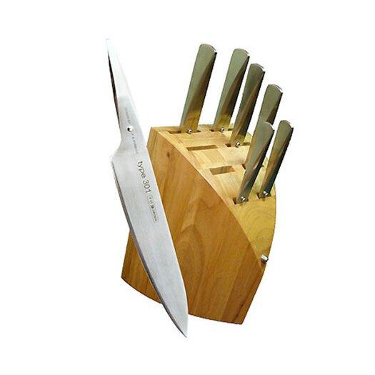 Chroma Type 301 8 Piece Knife Block Set