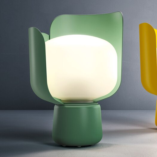 "FontanaArte Blom 9.4"" H Table Lamp with Novelty Shade"