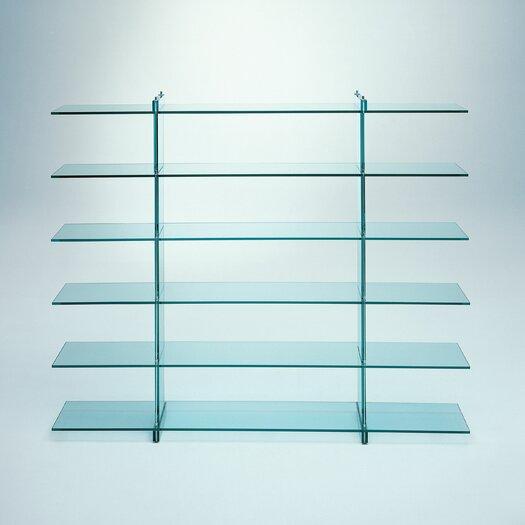 """FontanaArte Teso 79"""" Accent Shelves Bookcase"""