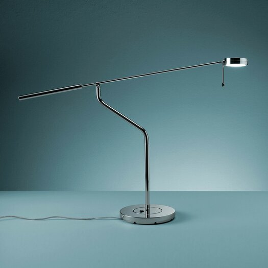 """FontanaArte Three Sixty 21.25"""" H Table Lamp with Empire Shade"""