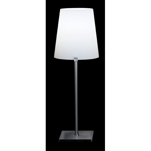 "FontanaArte Chiara 12.6"" H Table Lamp with Empire Shade"