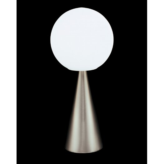 "FontanaArte Bilia 16.9"" H Table Lamp with Sphere Shade"