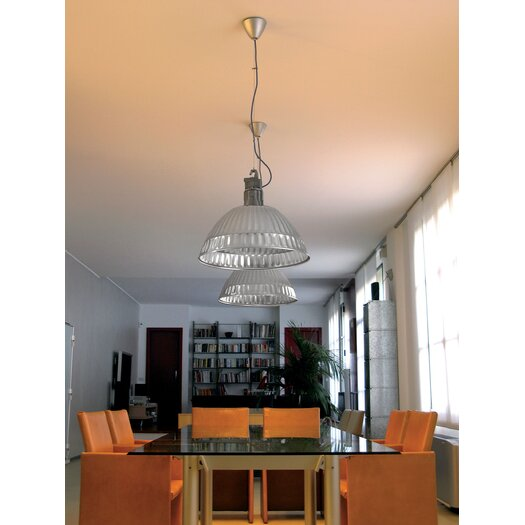 Pudding Glass Disk for Suspension Lamp