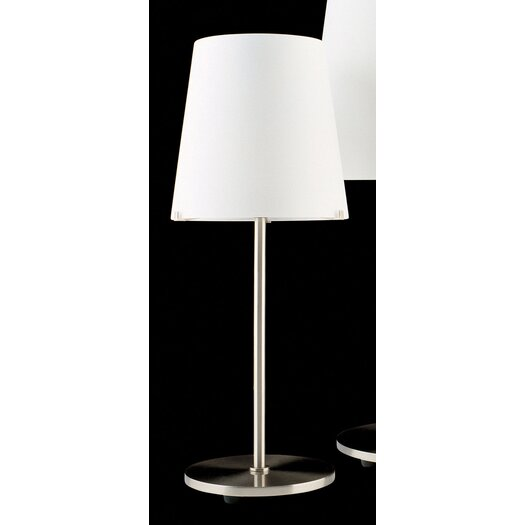 "FontanaArte 23.6"" H Table Lamp with Empire Shade"