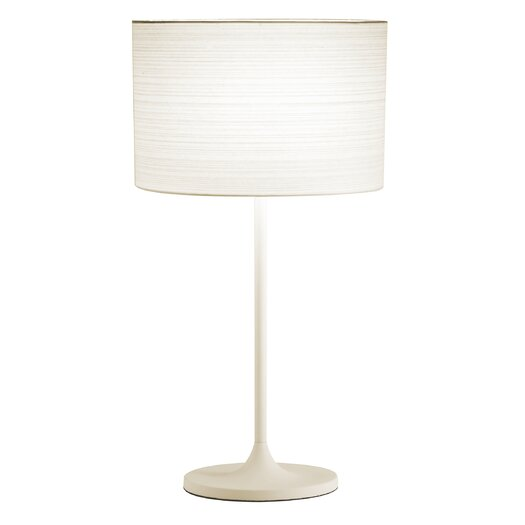 """Adesso Oslo 22.5"""" H Table Lamp with Drum Shade"""